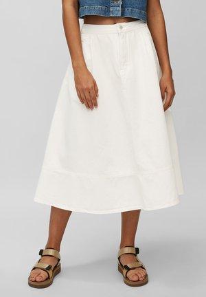 A-line skirt - multi/bright white