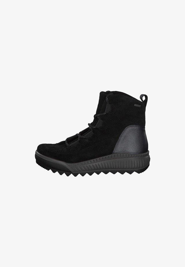 Ankle boots - schwarzschwarz