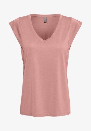 KAJSA - Basic T-shirt - ash rose