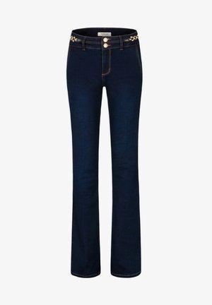 ORNAMENTS - Bootcut jeans - blue denim
