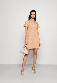 Fashion Union - COMBARRO DRESS - Day dress - brown - 1