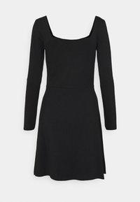 Even&Odd - Jersey dress - black - 8
