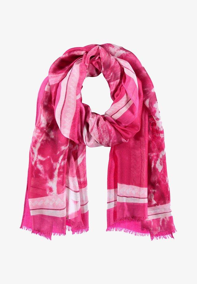 ANANS - Sjaal - lila/pink druck
