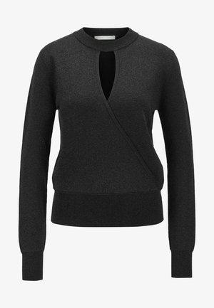 FLORICIA - Pullover - black