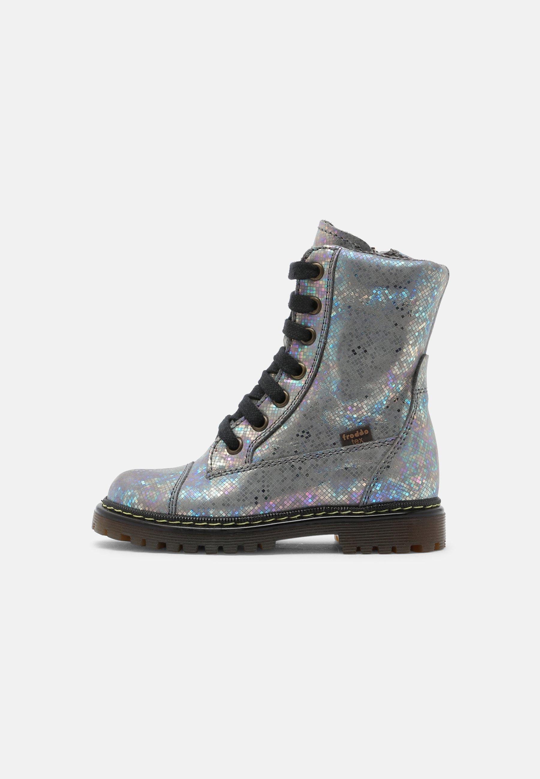 Kids ELI TEX - Lace-up boots