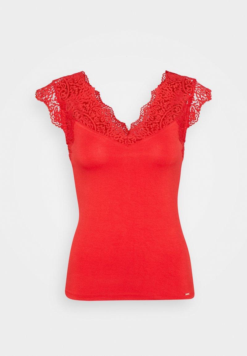 Morgan - DENO - Print T-shirt - red