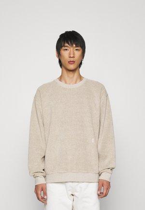 HEAVY CREWNECK - Sweatshirt - ecru