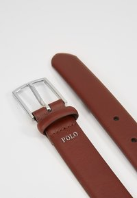 Polo Ralph Lauren - DRESS SMOOTH  - Riem - brown - 3