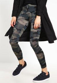 Urban Classics - Leggings - Trousers - grey - 3