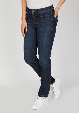CICI MIT RETRO-WASCHUNG - Straight leg jeans - dark-blue denim