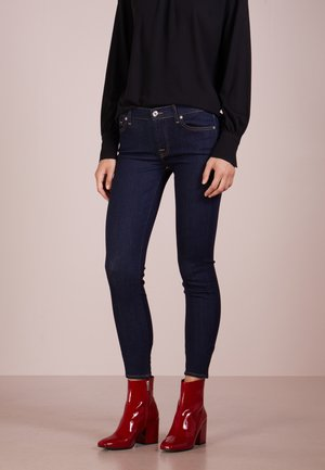 CROP - Jeans Skinny Fit - bair clean rinse