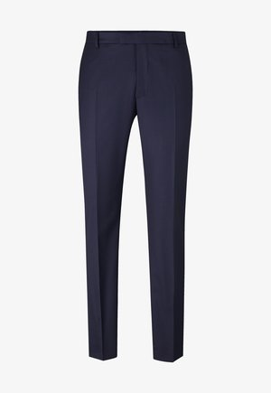 GUN - Pantaloni eleganti - dark blue