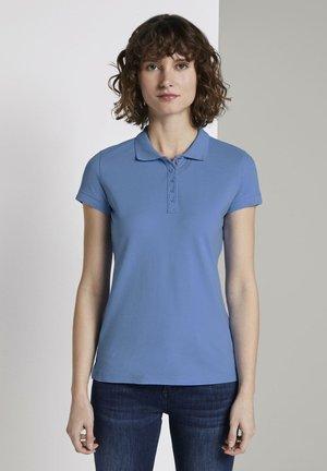 STRUKTURIERTES - Poloshirt - sea blue