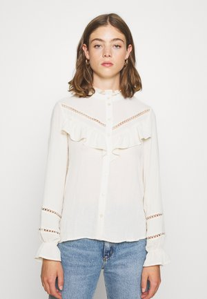 VMZIGGA DETAIL - Button-down blouse - birch