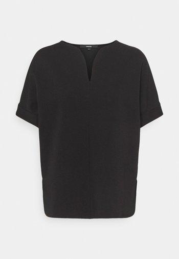 ULVINA - Jednoduché triko - black