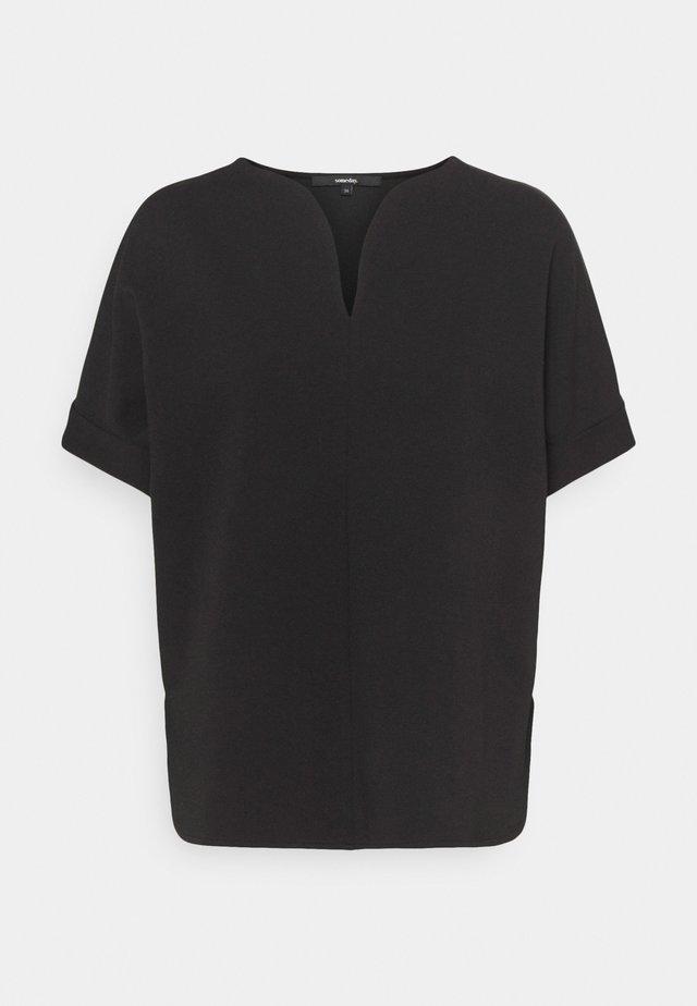 ULVINA - T-shirt basic - black