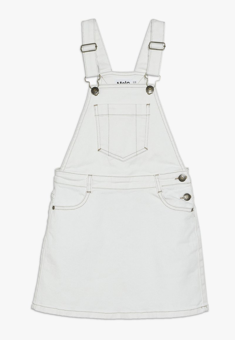 Molo - CAROLYN - Spódnica jeansowa - white star