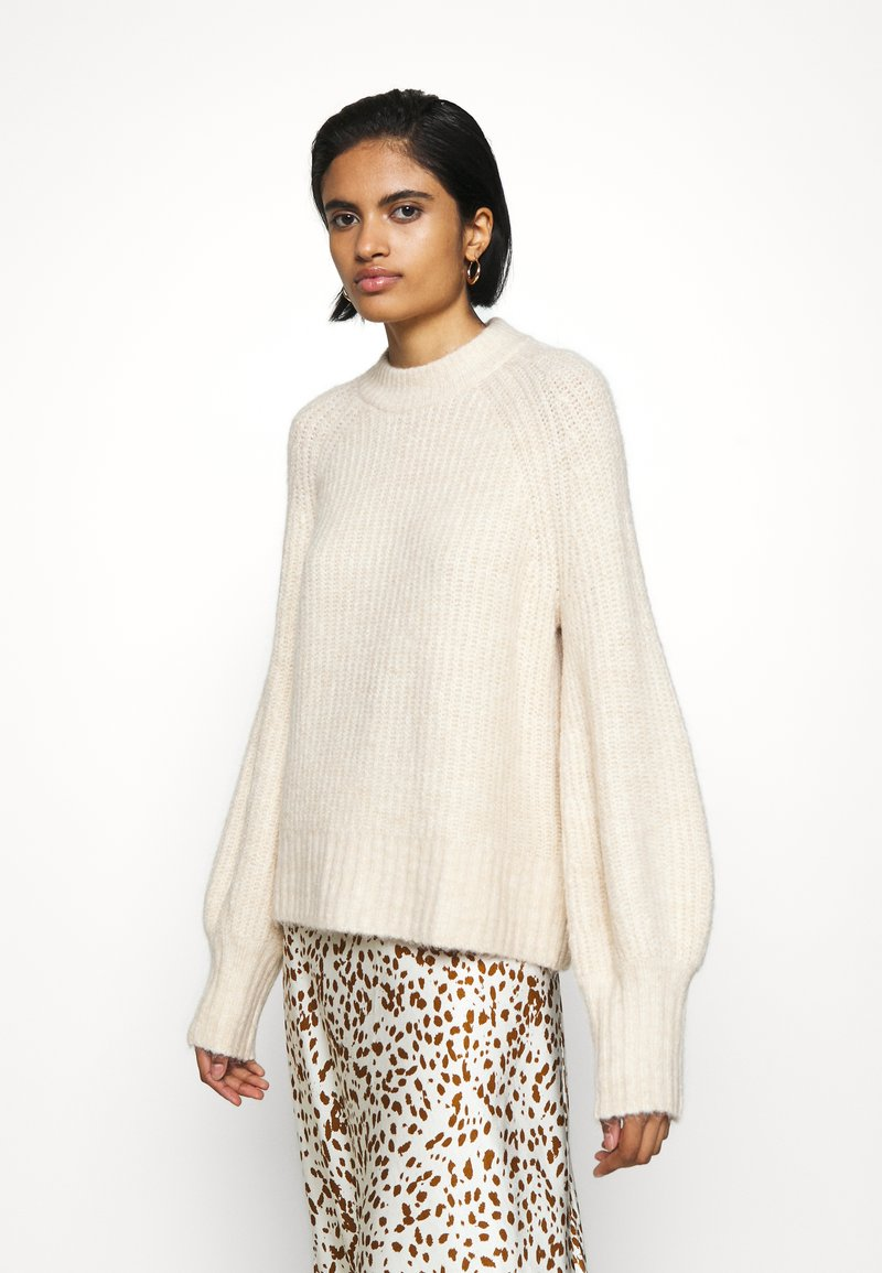 Monki - SONJA - Jumper - white dusty light
