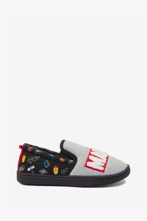 MARVEL SLIPPERS - Slippers - grey