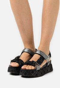 Liu Jo Jeans - Platform sandals - black - 0