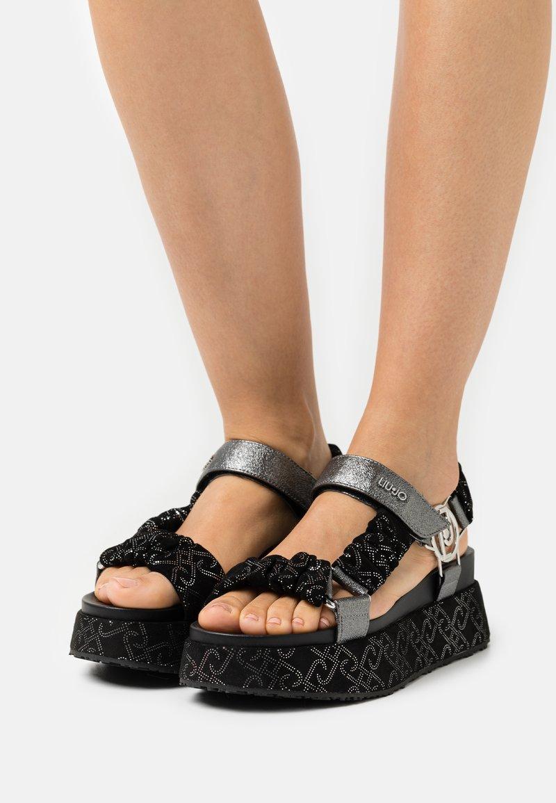Liu Jo Jeans - Platform sandals - black