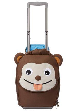 Wheeled suitcase - braun