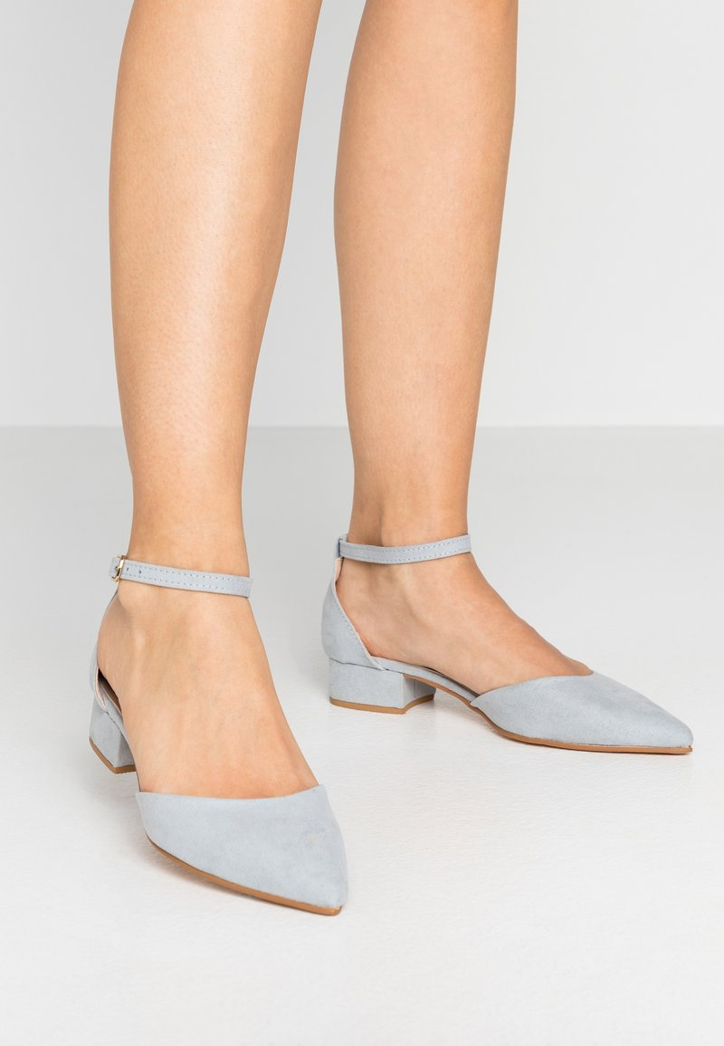 Dorothy Perkins - POLLY TWO PART HEELED  - Escarpins - blue