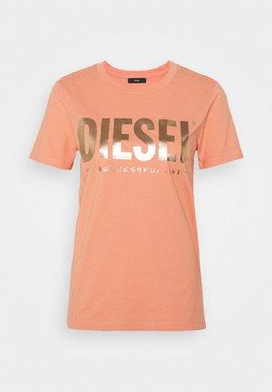 T-SILY-WX T-SHIRT - Print T-shirt - apricot