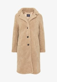 Abercrombie & Fitch - DAD COAT SHERPA - Cappotto invernale - tan - 4