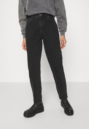 NMISABELANKL MOM  - Jeansy Relaxed Fit - black
