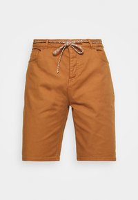 SEASONAL GARMENT DYED 5 POCKET - Shorts - tabacco
