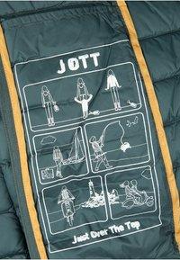 JOTT - CLOE - Gewatteerde jas - bleu petrole - 5