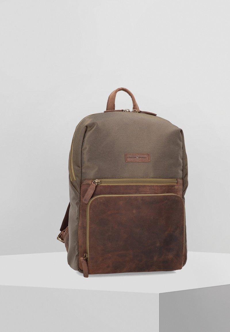 Greenburry - VINTAGE TEC  - Rucksack - brown