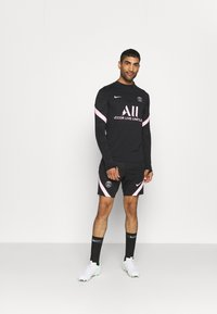 Nike Performance - PARIS ST. GERMAIN  - Long sleeved top - black/arctic punch - 1