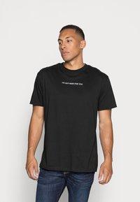 Night Addict - T-shirt imprimé - black - 0