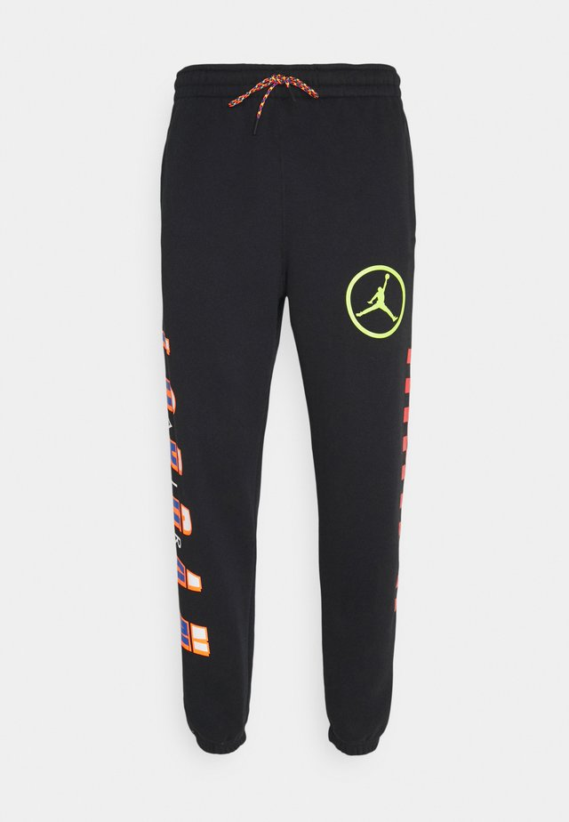DNA HBR PANT - Pantalones deportivos - black/cyber