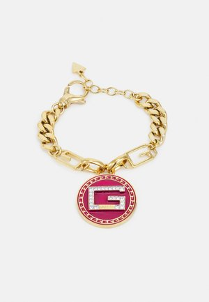 SOLITAIRE - Pulsera - yellow gold-coloured/pink
