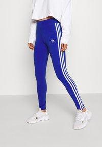 adidas Originals - Leggings - Trousers - team royal blue/white - 0