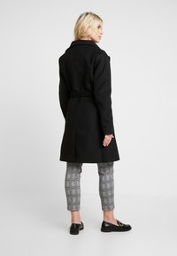 LOVE2WAIT - COAT DOUBLE ZIPPER - Classic coat - black - 2