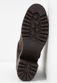 Unisa - JEZABEL - Cowboy/biker ankle boot - brown - 6