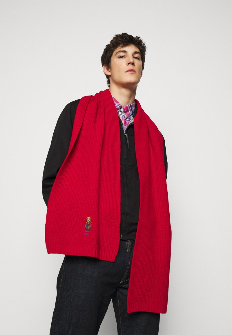 Polo Ralph Lauren - OUTDOOR BEAR - Šála - red