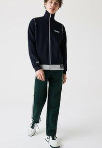 Lacoste - Zip-up hoodie - bleu marine - 1