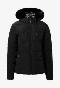 Desigual - SLIM PADDED JACKET HOOD - Winter jacket - black - 4