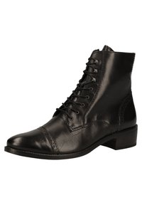 Paul Green - Lace-up ankle boots - schwarz 007 - 2