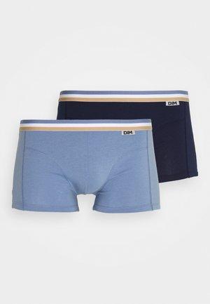 FASHION BOXER 2 PACK - Shorty - bleu denim/ bleu artic