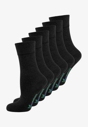 6 PACK - Socks - schwarz