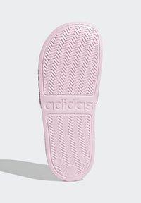 adidas Performance - ADILETTE SHOWER SWIM - Chanclas de baño - pink - 4
