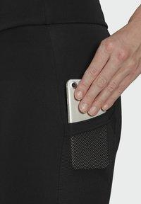adidas Performance - DESIGNED TO MOVE BIG LOGO SPORT LEGGINGS - Collants - black - 5