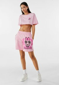 Bershka - POWERPUFF GIRLS - Short - pink - 1