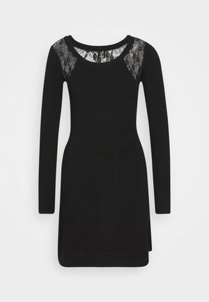 SOMALIA DRESS - Shift dress - black